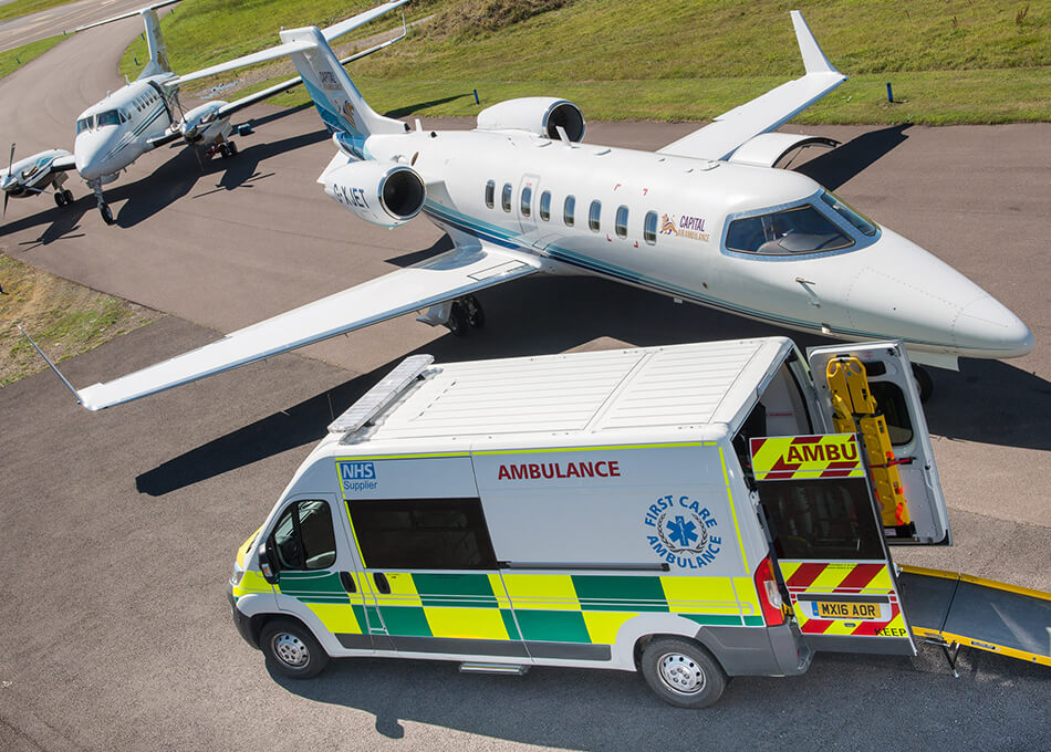 First Care Ambulance Medical Repatriation