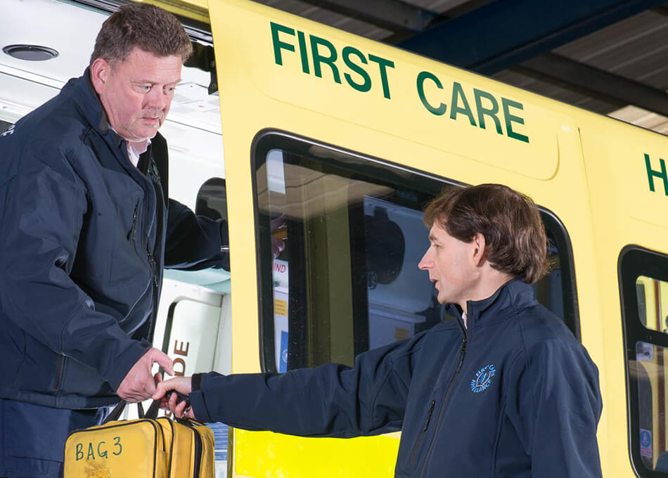 First Care Ambulance - Organ Transport